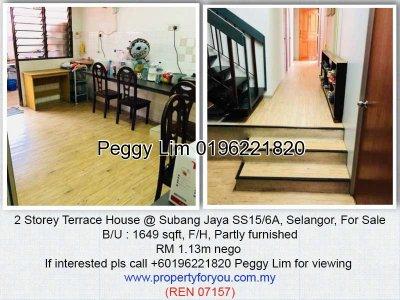 Double Storey House @ SS15 Subang Jaya