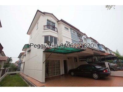 3sty Endlot with extra land Terrace House For Sale, Mutiara Puchong, Puchong