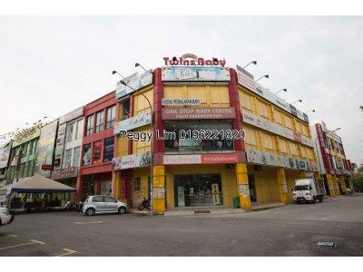 4sty Shop Lot For Sale, Facing Main Road, Jalan Bandar, Pusat Bandar Puchong, Selangor.