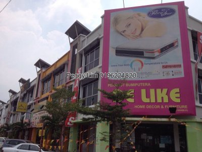 2Storey Corner Shop Lot 3rd Avenue Klang Sentral For Sale, Klang Selangor