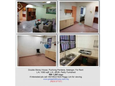 Double Storey Terrace House @ Puchong Perdana