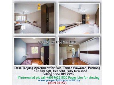Desa Tanjung Apartment For Sale, Puchong