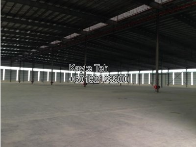 Warehouse to let in Section 15, Shah Alam