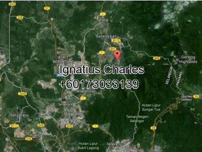 1 Acre Agricultural Land For Resort in Ulu Yam, Selangor
