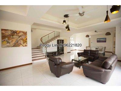 2Storey Corner Bungalow House Casa Idaman To Let, Setia Alam Shah Alam Selangor
