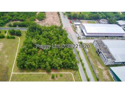 2.06 Acres Industrial Land For Sale, Jalan Perindustrian Mahkota, Mukim Beranang, Ulu Langat, Selangor.