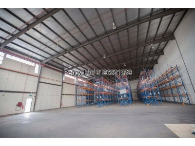 2 X Double Storey Detached Office & Factory/Warehouse with racks for Rent @ Seksyen 27, Shah Alam