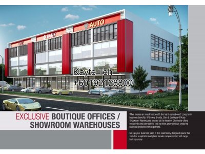Glen 9 Boutique Offices @ Hicom Glenmarie Industrial Park, Shah Alam
