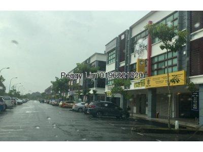 3 Storey Shop For Sale, Berjaya Park, Jalan Sungai Rasau, Klang, Selangor.