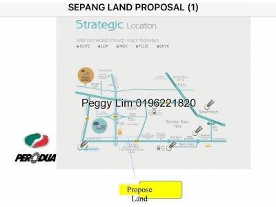 Agricultural Zoned Industrial Land,Kota Warisan,Sepang KLIA,Selangor To Let