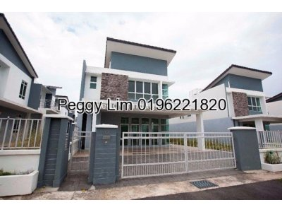 Below Market Price ! Zara Zero Lot Bungalow Saujana Rawang, Selangor. RM 788k nego