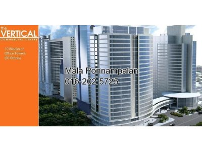 939 sq ft @ The Vertical, Bangsar South [Vacant unit]
