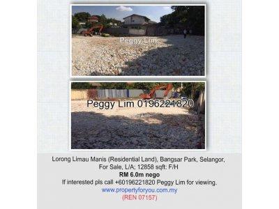 Residential Land @ Lorong Limau Manis, Bangsar Park