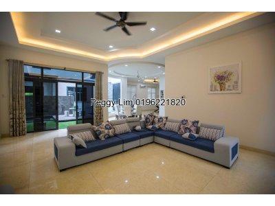New 3 Storey Bungalow, Taman Equine, Seri Kembangan, For Sale