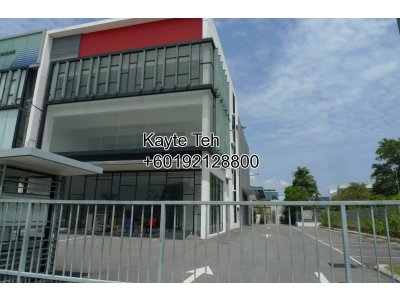 3 Storey Office cum Warehouse/Factory@ Hicom Glenmarie Industrial Park, Shah Alam