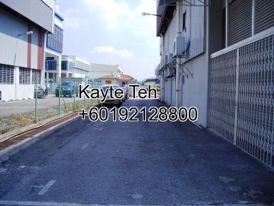 Semi Detached Factory at Temasya Industrial Park, Shah Alam