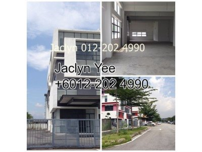 3 Storey Semi Detached Factory @ Kota Damansara