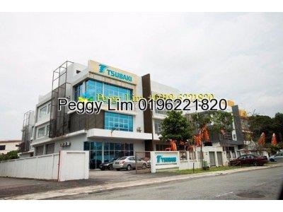 2sty Semi-D Factory For Sale Taman Perindustrian Bukit Jelutong, Selangor