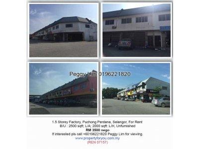 1.5 Storey Factory @ Kinrara Industrial Park