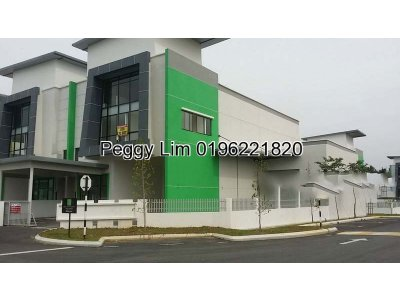 Semi-D Link Factory For Sale, 228 Smart Industrial Series, Semenyih, Beranang
