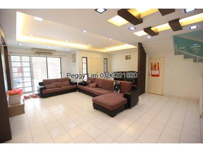 2 storey House For Sale, Jalan BP 10/1, Bandar Bukit Puchong, Puchong, Selangor, 22x75, freehold, RM 748k nego