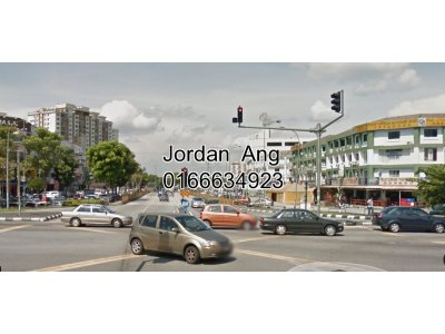 End Lot Shop For Rent In Taman Kosas, Ampang