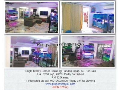Single Storey House @ Pandan Indah, KL