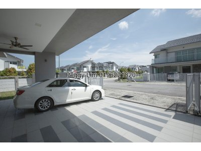 Zero Lot Bungalow For Sale, Villa Height, Puchong, Taman Equine, Seri Kembangan