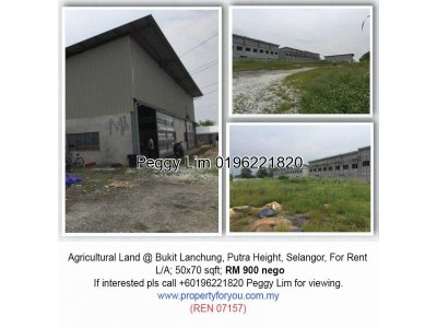 Agricultural Land @ Bukit Lanchung, Putra Height