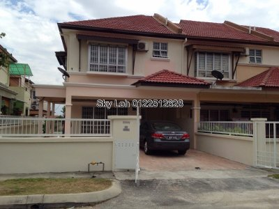 2 storey Prima Tropika, END LOT for sale