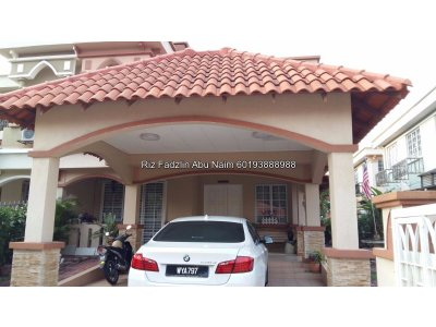 Fully furnished Semi-D Gated Guarded, D'Kayangan, Section 13, Shah Alam