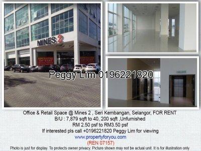 Office & Retail Spaces @ Mines 2 , Seri Kembangan