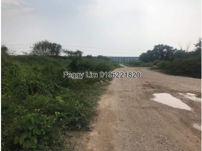 10.5 Acres Industrial Land, Batu 8 Sijangkang Industrial Zoning For Sale