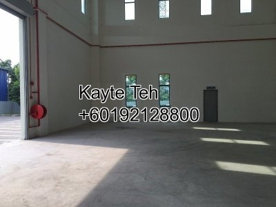 3 Storey Semi-Detached Factory with lift at Tiong Nam Industrial Park, Shah Alam