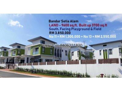 2 Storey Bungalow FOR SALE @ CasaSutra, Setia Alam, Shah Alam, Selangor.