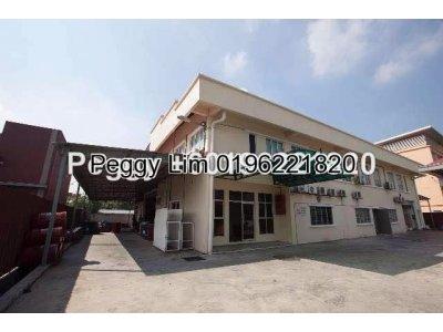 2 Storey Bungalow Factory For Sale Sungai Kapar , Klang Selangor.