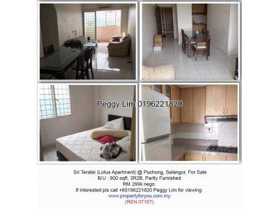 Sri Teratai Apartment , Puchong
