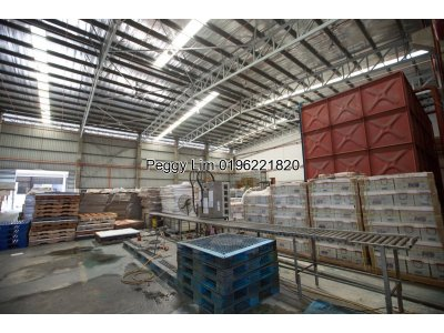 1 Acres Factory to Let, 30k built up 1000 amps in Alam Jaya Puncak, Selangor