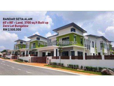2 Storey Bungalow FOR SALE @ CasaSutra, Setia Alam, Shah Alam, Selangor