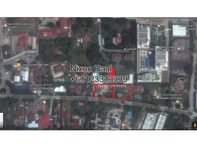 2 Adjacent Bungalows With Pool In Ampang Hilir