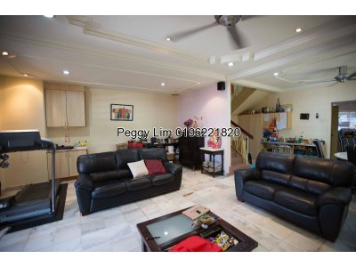 2sty Endlot with land Terrace House For Sale, Jalan Tempua, Puchong