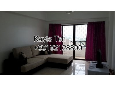 1,422 sq ft Fully Furnished, High Floor Unit