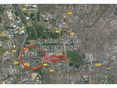 Industrial Land In Glenmarie, Shah Alam