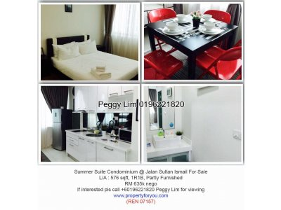 Summer Suite @ Jalan Sultan Ismail