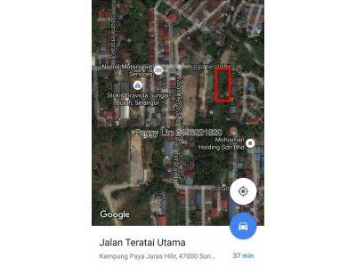 Land For Sale, Jalan Teratai Utama, Sungai Buloh, Selangor