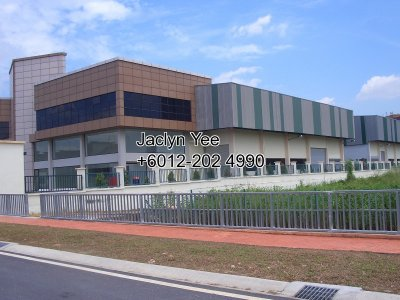 3 storey Semi-detached Factory @ Temasya Industrial Park, Glenmarie