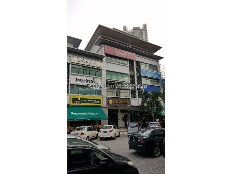 4-sty Shop Jalan Solaris Mont Kiara For Sale