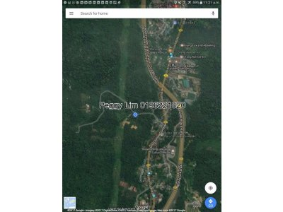 Land For Sale Batu 10  1/2, Jalan Ulu Gombak
