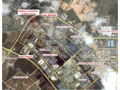 4.234 ACRES INDUSTRIAL LAND AT PASIR GUDANG (ZONE 1)