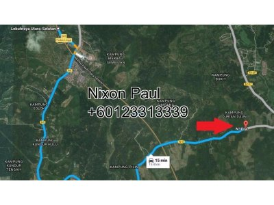 24.6 Acres Agricultural Land In Negri Sembilan